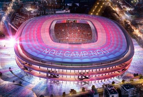 """برشلونة يجدد ملعب """"كامب نو"""" ببيع تسميته مقابل مبلغ خيالي"""
