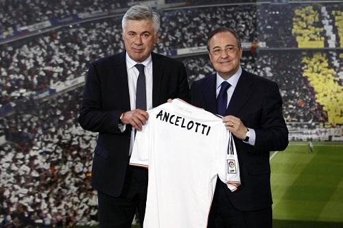 رسميا.. كارلو أنشيلوتي مدربا لريال مدريد لمدة ثلاثة مواسم