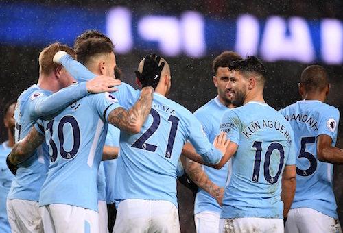 مانشستر سيتي يكتسح بيرنلي ويتأهل إلى الدور الرابع من كأس الاتحاد الإنجليزي
