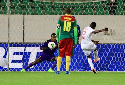 ضربة جزاء تمنح الكونغو فوزا ثمينا على الكاميرون في كأس إفريقيا للمحليين
