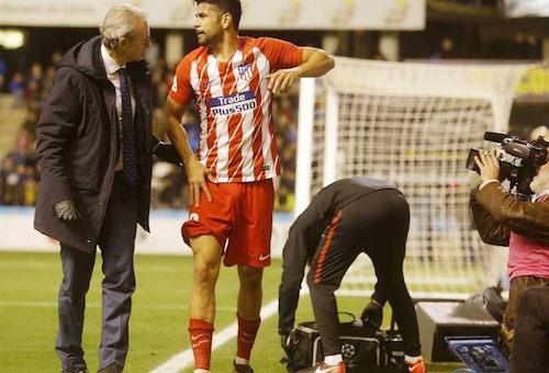 """عودة """"المشاغب"""" كوستا تخطف الأضواء في أتلتيكو مدريد"""