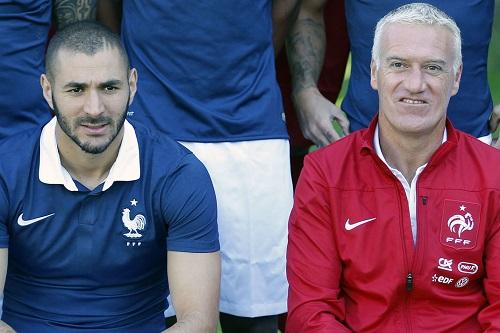 ديشامب مدرب المنتخب الفرنسي: لا يمكنني مسامحة كريم بنزيمة