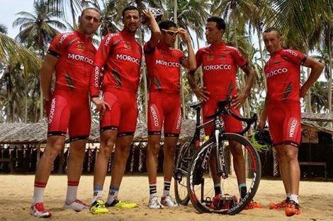 """المغرب يتصدر سبورة ميداليات """"الدراجات الإفريقية"""""""