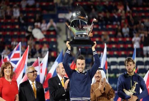 الإسباني باوتيستا يهزم بويل ويتوج ببطولة دبي للتنس