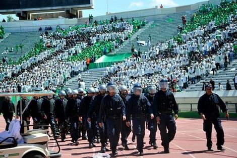 ارميل: مباريات البطولة تحتاج 110 آلاف شرطي