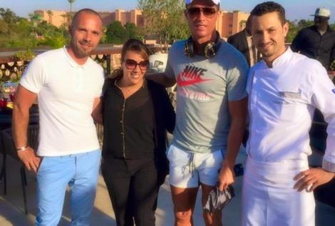 """رونالدو يعود مجددا لمراكش لقضاء """"أوقات صاخبة"""" حسب وصفه"""