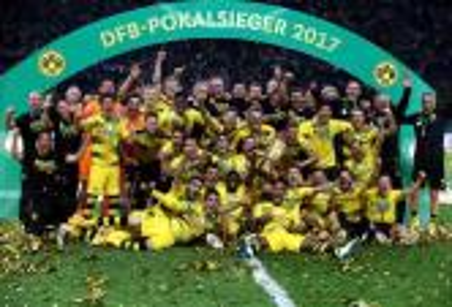 دورتموند يعبر فرانكفورت ويتوج بلقب كأس ألمانيا