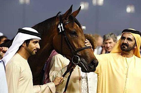 حاكم دبي يدفع 2.6 مليون يورو لشراء مهر بريطاني مهجن