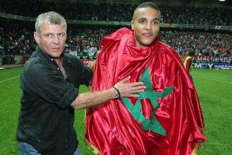"""العَربي يُعزّز وَصافتَه للهدّافين المغاربة في تاريخ """"الليغا"""" خَلْف بنمبارك"""