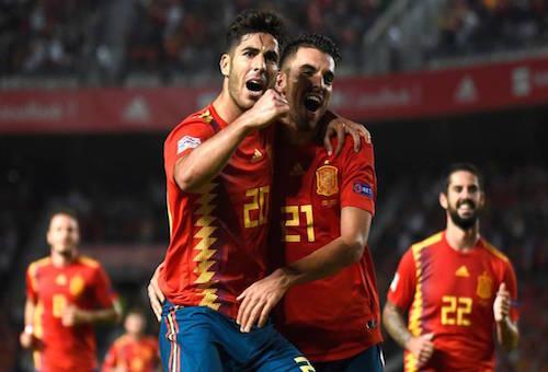 """""""الماتادور"""" الإسباني يكتسح كرواتيا بستة أهداف في دوري أمم أوروبا"""