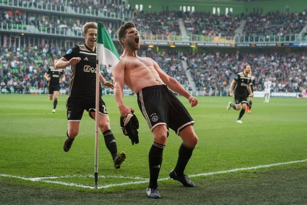 أياكس يهزم غرونينغين في الدوري الهولندي