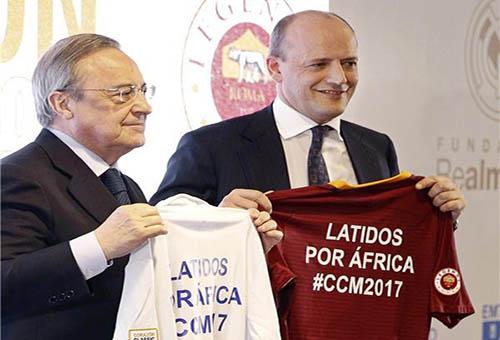 ريال مدريد يُقيم مباراة خيرية لصالح فقراء إفريقيا
