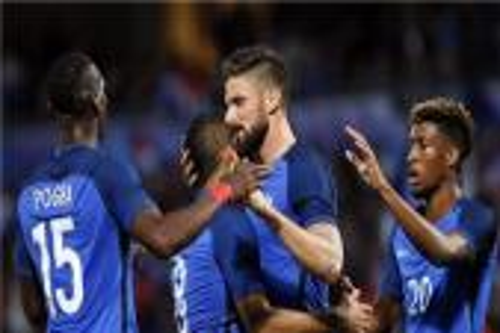 فرنسا تختتم استعداداتها لليورو بالفوز على أسكتلندا