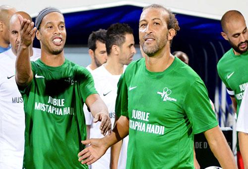 حجي يمثّل المغرب في مباراة اسْتعراضِية بالسنغال