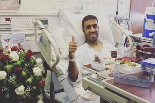 حمد الله يطمئن معجبيه على حالته الصحية
