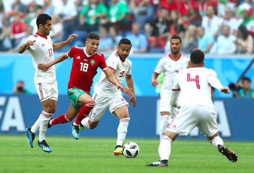 أمين حارث يحقق رقما مميزا في كأس العالم
