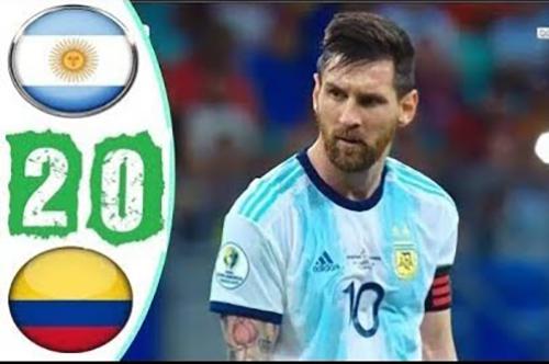 أهداف كولومبيا والأرجنتين