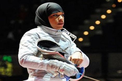 الأمريكية ابتهاج محمد تنهي مغامرتها في الأولمبياد
