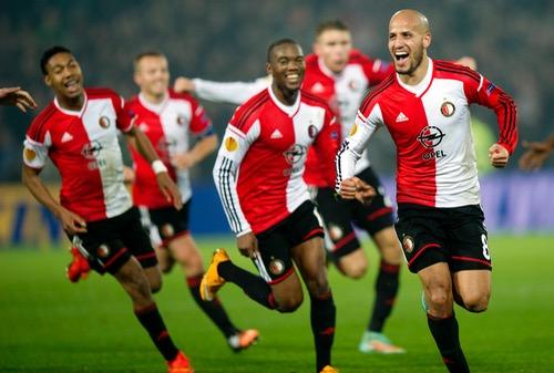 """كريم الأحمدي يسجل هَدفه الثالث ويَتألّق مع """"فاينورد"""" في الدوري الهولندي"""