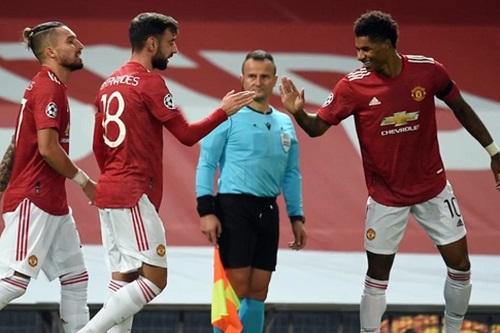 مانشستر يونايتد يضرب بقوة وسان جيرمان يستعيد توازنه الأوروبي