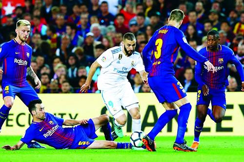 """""""كلاسيكو الأرض"""" بين برشلونة والريال ينتظر كلمة الفصل من الاتحاد الإسباني"""