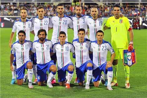 المنتخب الإيطالي يقيم بمونبلييه في يورو 2016