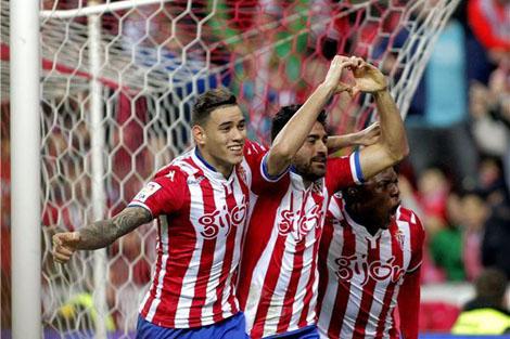 خيخون يكتسح ريال سوسيداد في الدوري الإسباني