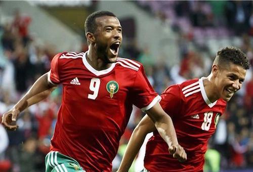 فوز المغرب على سلوفاكيا