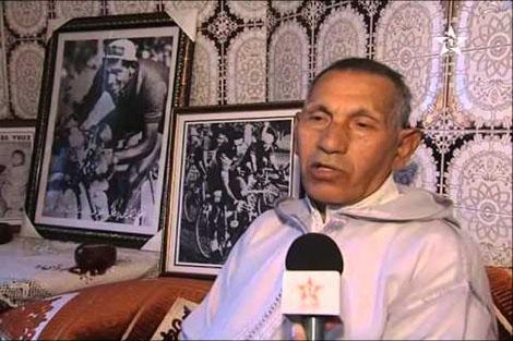 الدراج المغربي السابق محمد الكرش في ذمة الله