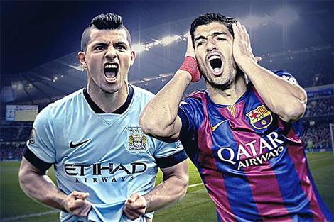 برشلونة حاول ضم أغويرو قبل سواريز