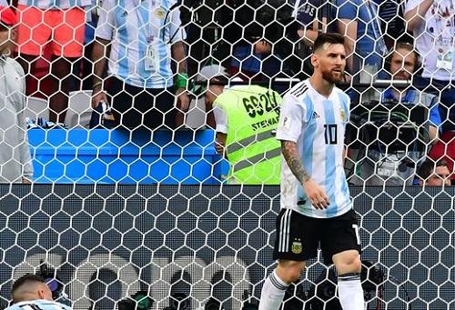ميسي خارج تشكيلة مباريات المنتخب الأرجنتيني حتى نهاية العام