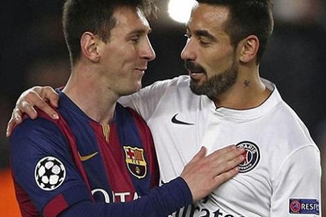 هل يحمل لافيتزي قَميص برشلونة بعد تَجاهله من لوران بلان في الـ PSG؟