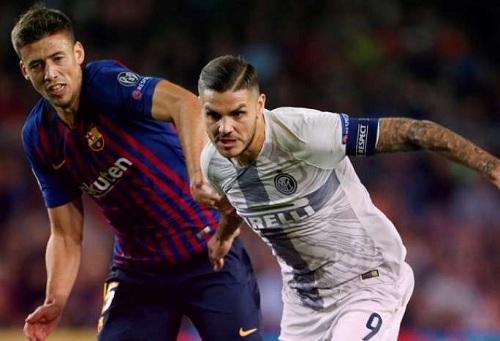 برشلونة يهزم إنتر بثنائية في غياب ميسي وينفرد بصدارة مجموعته في دوري الأبطال