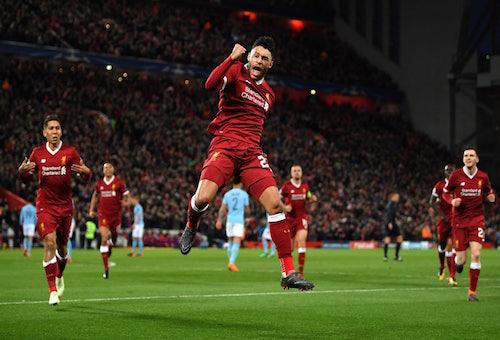 ليفربول يضرب مانشستر سيتي بثلاثية وبرشلونة يجتاز روما برباعية في دوري الأبطال