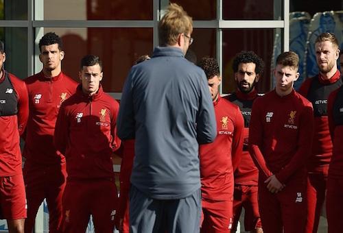 ليفربول يستعد لموقعة ريال مدريد بمعسكر في إسبانيا