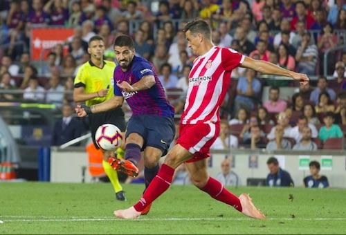 """جيرونا يوقف سلسلة انتصارات برشلونة في الدوري الإسباني ويفجر مفاجأة في """"الكامب نو"""""""