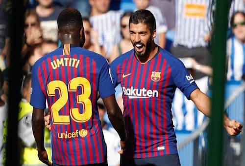 برشلونة يواصل حصد العلامة الكاملة في الدوري الإسباني بفوز مثير على سوسييداد