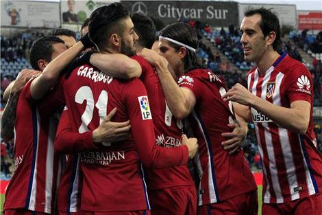أتلتيكو مدريد يحقق رقمًا جديدًا في تاريخه بالليغا