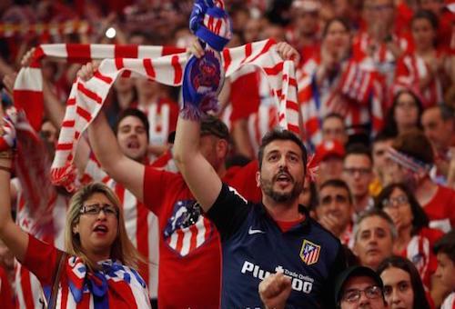 يويفا يعاقب أتلتيكو مدريد بسبب العنصرية