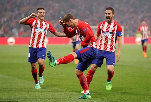 أتلتيكو مدريد يسقط مارسيليا بثلاثية ويتوج ببطولة الدوري الأوروبي