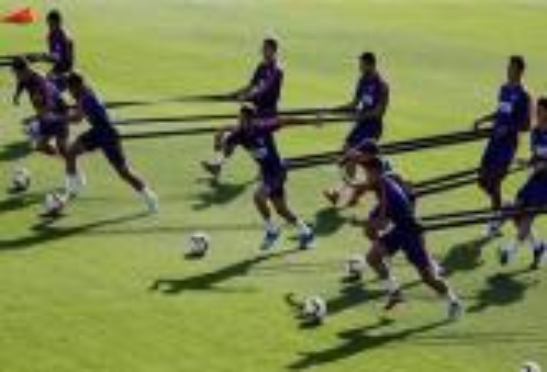 تألق كوستا وليمار في تدريبات أتلتيكو مدريد
