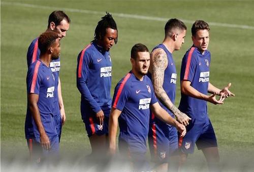 أتلتيكو مدريد يحدد قادة الفريق