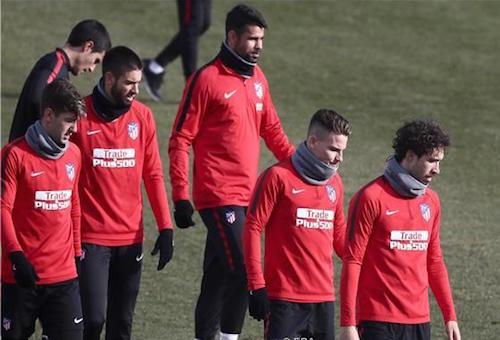 أتلتيكو مدريد يستعيد نجميه قبل موقعة آرسنال