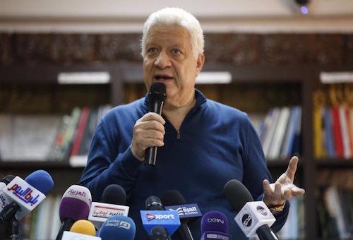 مرتضى منصور: وليد أزارو أصبح يسجّل في الأسابيع الأخيرة لأنه يستعمل السحر