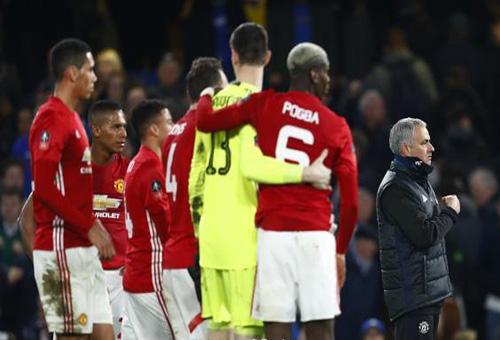 مانشستر يونايتد يواجه اتهامات بعدم السيطرة على لاعبيه