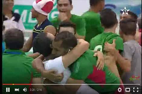 فتيان المغرب في نهائي البطولة العربية للطائرة