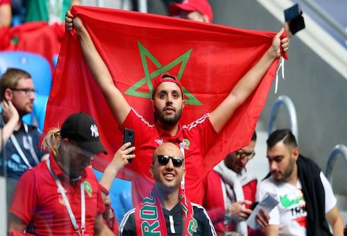 62548 متفرجا تابعوا مباراة المغرب وإيران