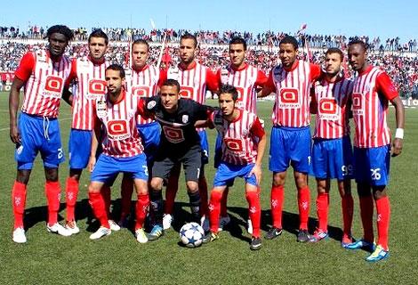 غياب 5 لاعبين عن المغرب التطواني أمام الهلال
