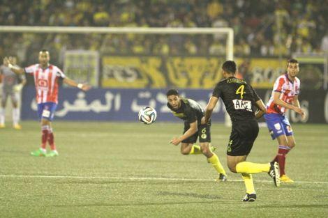 الـ MAT يفلت بثلاث نقاط أمام المغرب الفاسي العنيد بملعب سانية الرمل
