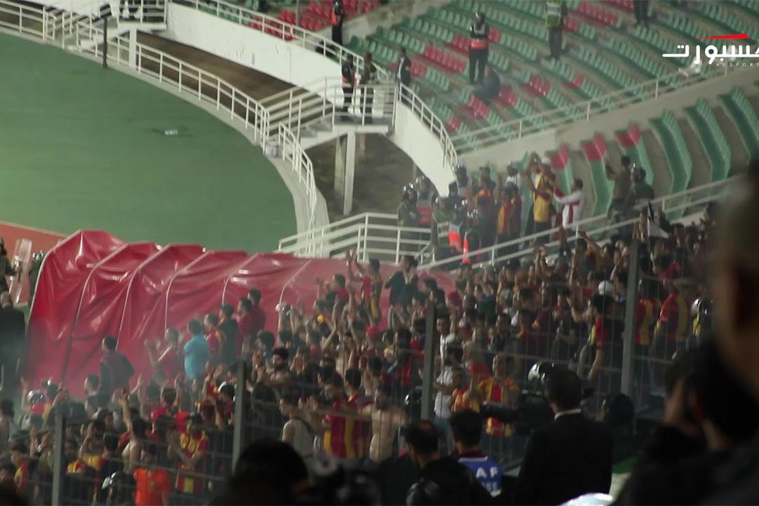 جمهور الترجي يصفق للوداد
